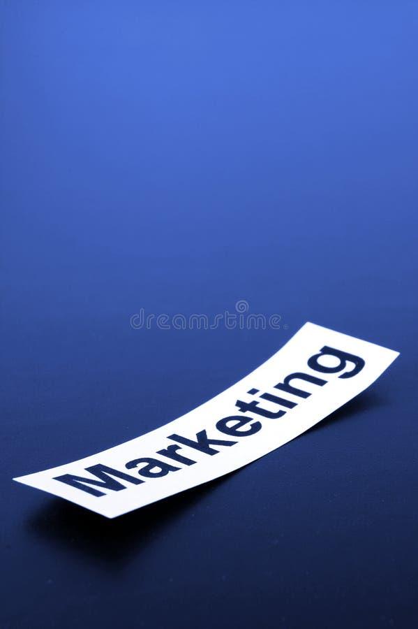 Het concept van de marketing stock afbeeldingen