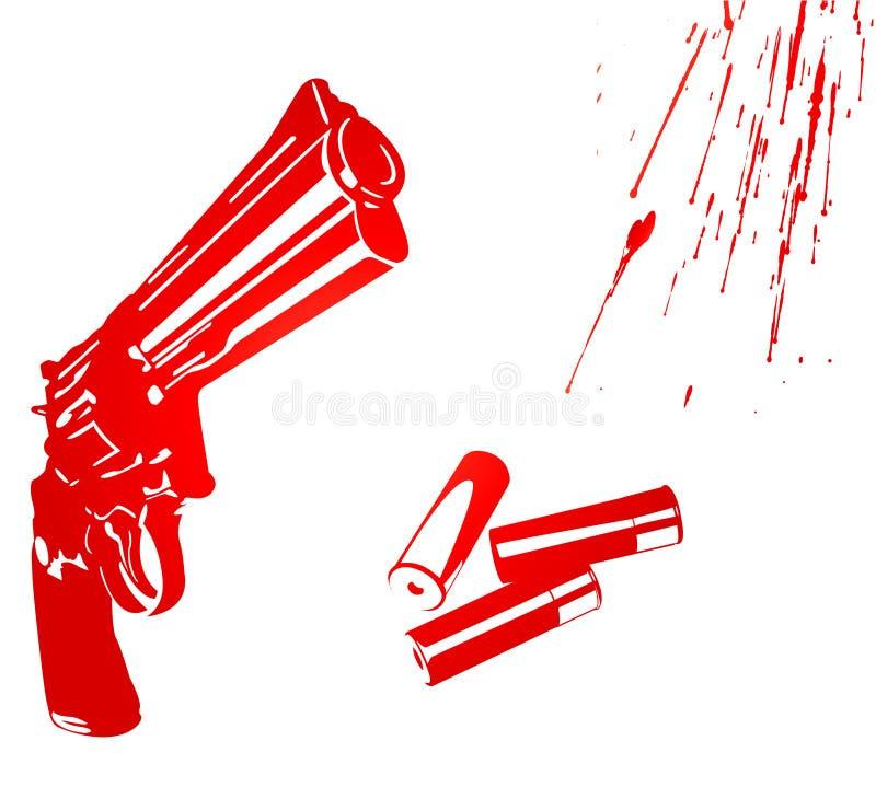 Het concept van de moord vector illustratie