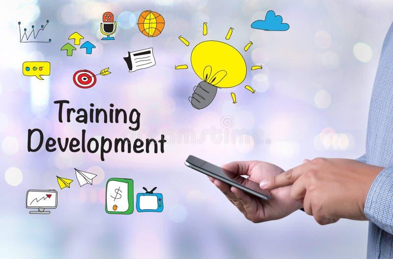 Het concept van de opleidingsontwikkeling stock foto