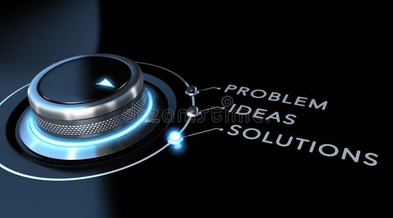 Het concept van de oplossing stock illustratie