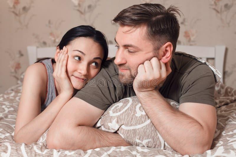 Het concept van de paarontspanning royalty-vrije stock afbeelding