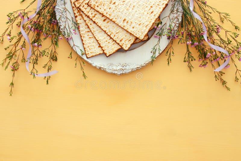 Het concept & x28 van de Pesahviering; Joodse Pascha holiday& x29; stock afbeelding