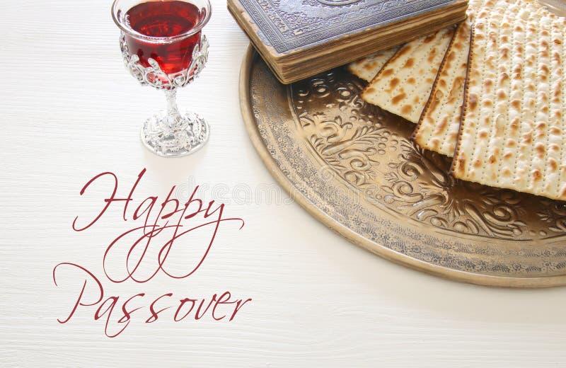 Het concept & x28 van de Pesahviering; Joodse Pascha holiday& x29; stock afbeeldingen