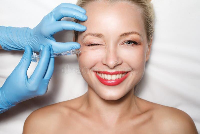 Het concept van de plastische chirurgie royalty-vrije stock foto