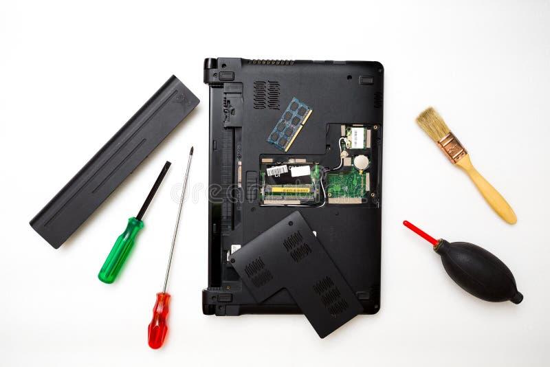 Het concept van de reparatiecomputer royalty-vrije stock foto