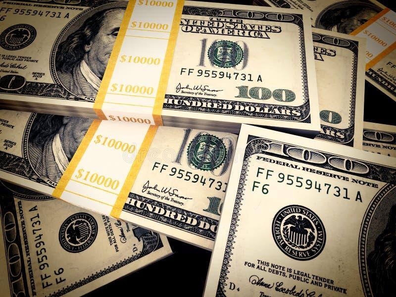 Het concept van de rijkdom vector illustratie