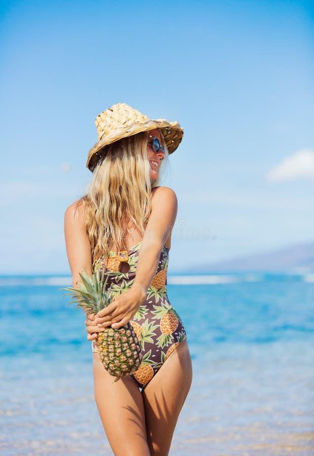 Het concept van de strandmanier stock afbeelding
