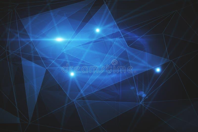Het concept van de technologie royalty-vrije illustratie