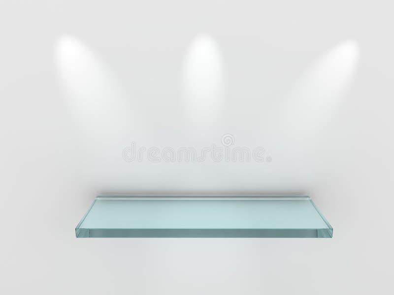 Het concept van de tentoonstelling royalty-vrije illustratie