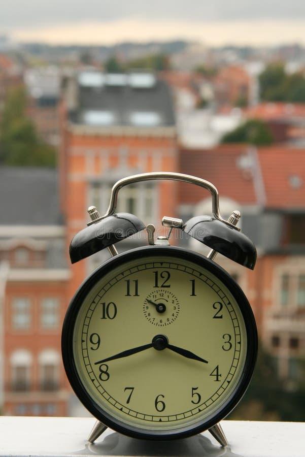 Het concept van de tijd stock fotografie