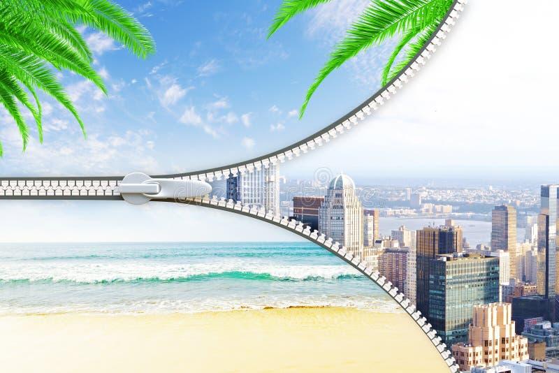 Het concept van de vakantie royalty-vrije illustratie