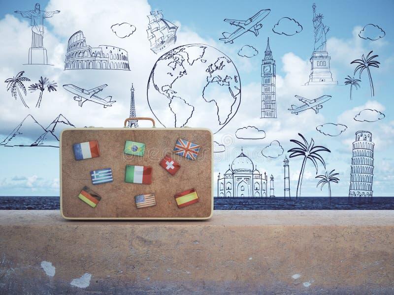 Het concept van de vakantie vector illustratie
