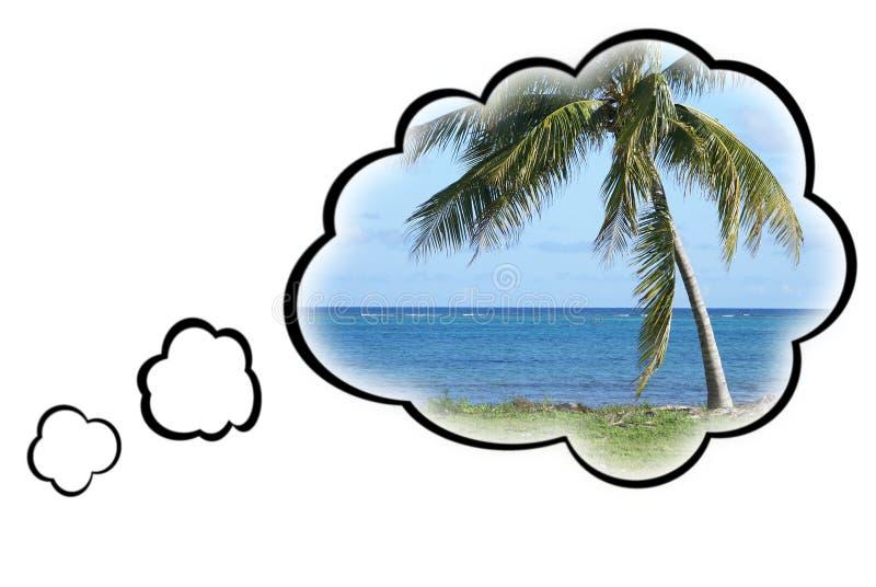 Het Concept van de Vakantie van de droom royalty-vrije stock fotografie
