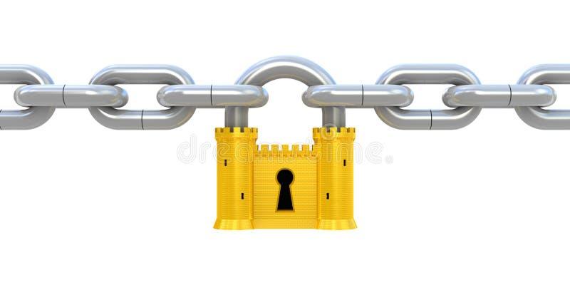 Het concept van de veiligheid stock illustratie
