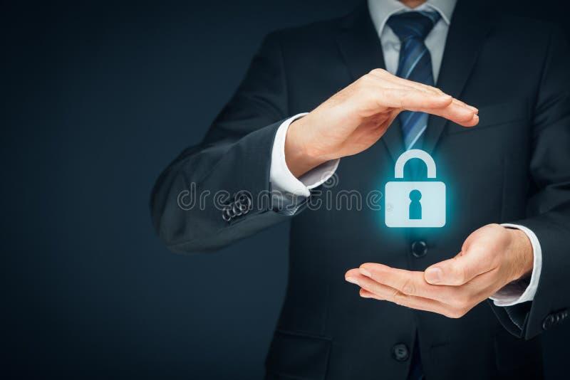 Het concept van de veiligheid royalty-vrije stock afbeeldingen