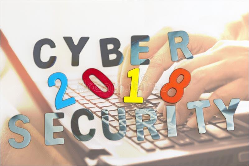 Het Concept van de Veiligheid van Cyber stock afbeeldingen