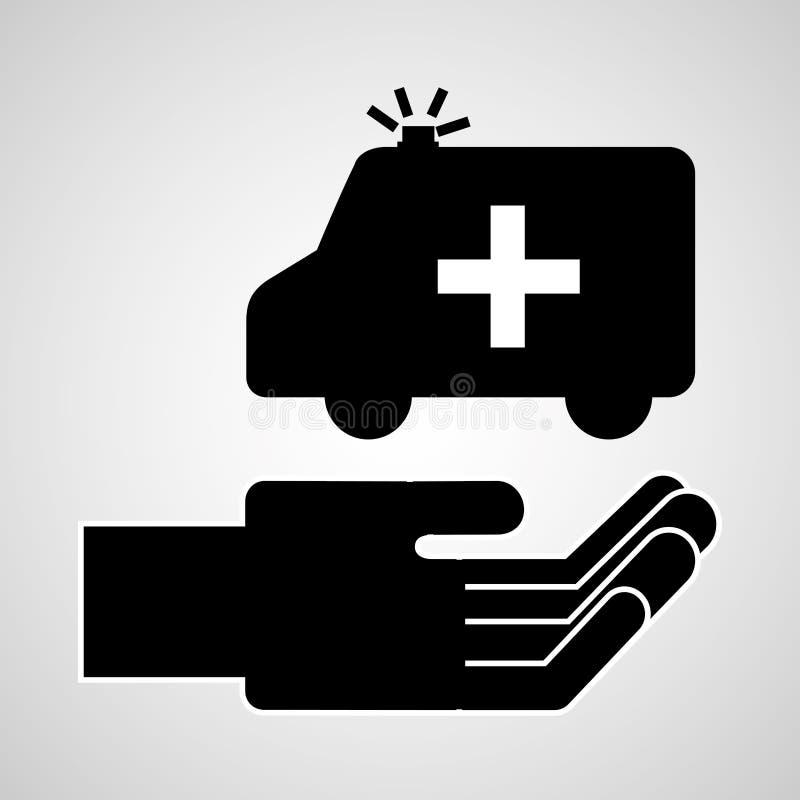 Het concept van de verzekering vector illustratie