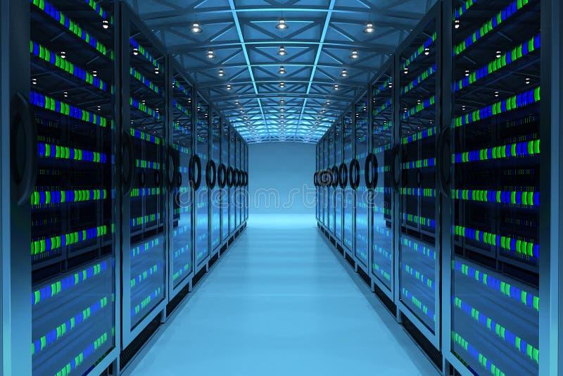 Het concept van de voorzien van een netwerkcommunicatietechnologie stock fotografie