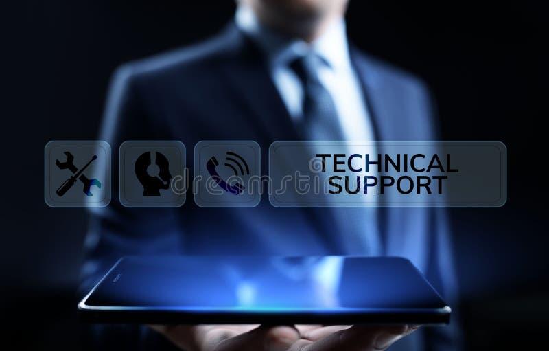 Het concept van de de waarborgkwaliteitsborging van de technische ondersteuningklantenservice stock illustratie
