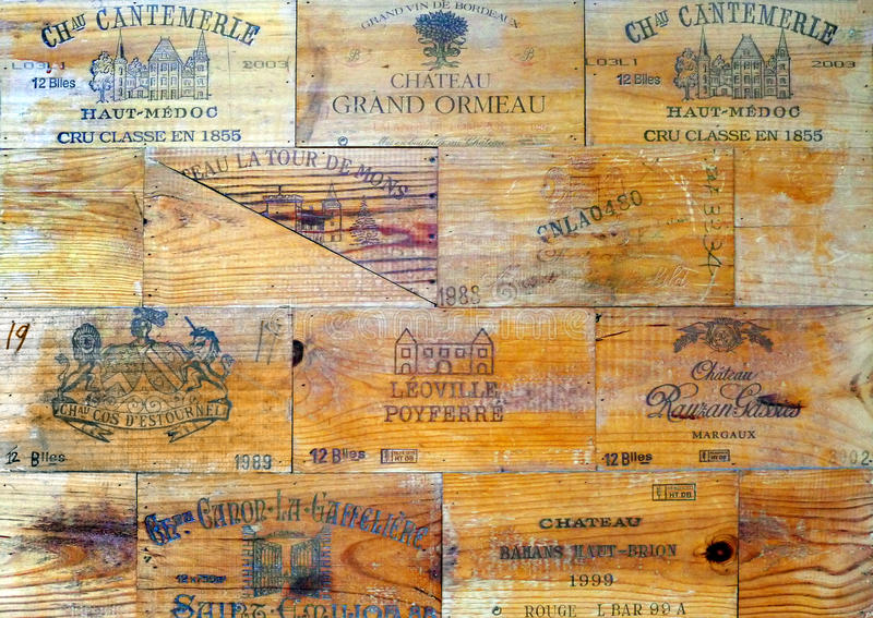 Het concept van de wijnindustrie stock fotografie