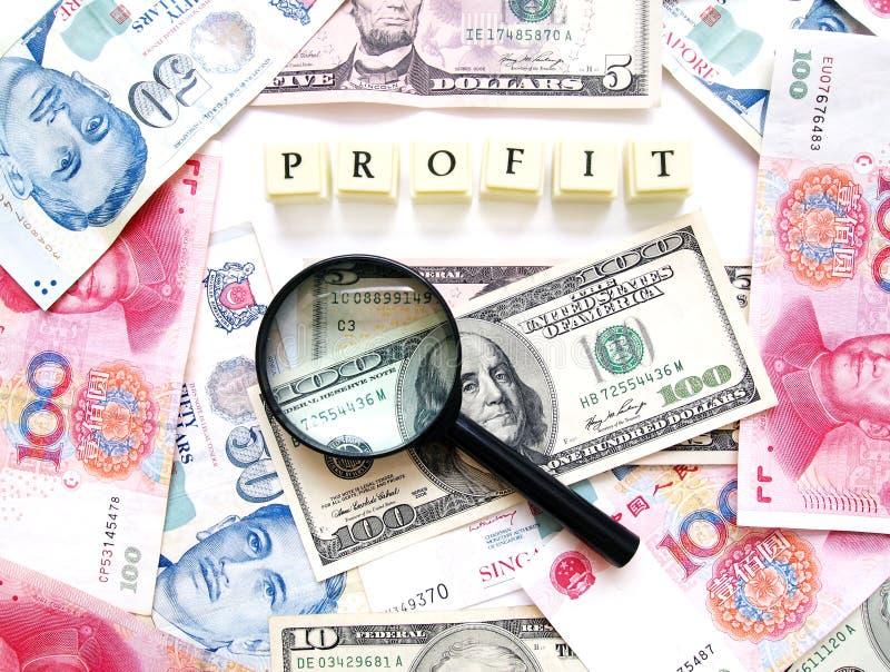 Het concept van de winst royalty-vrije stock fotografie