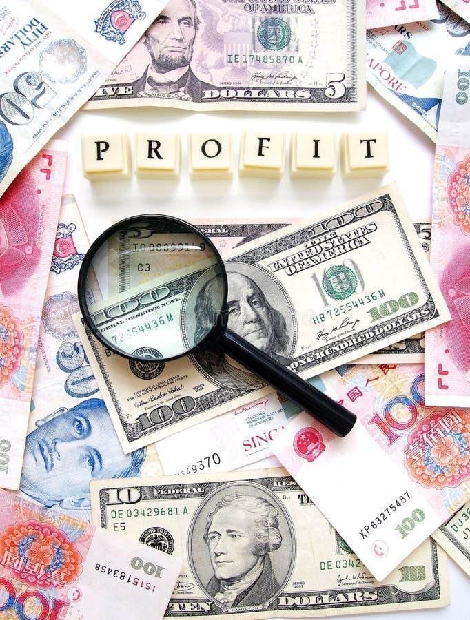 Het Concept van de winst royalty-vrije stock afbeelding