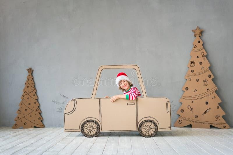 Het concept van de de wintervakantie van Kerstmiskerstmis royalty-vrije stock afbeeldingen