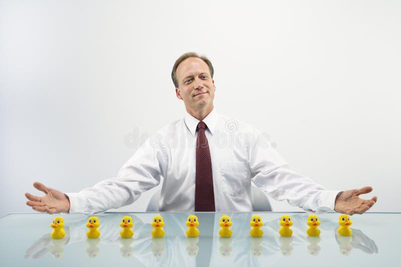 Het concept van de zakenman royalty-vrije stock afbeeldingen