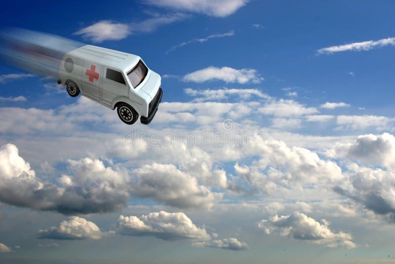 Het concept van de ziekenwagen royalty-vrije stock afbeeldingen