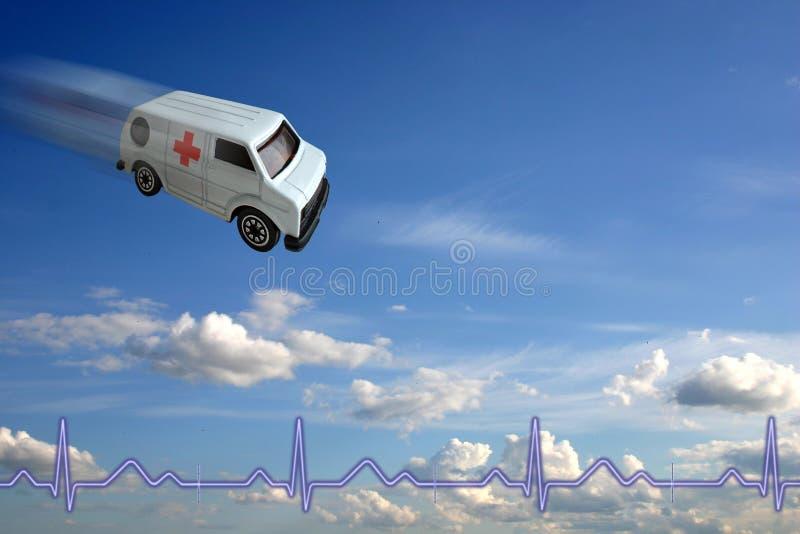 Het concept van de ziekenwagen stock afbeelding