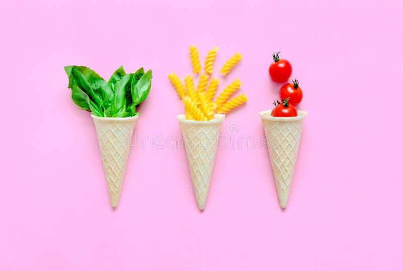 Het concept van deegwareningrediënten royalty-vrije stock afbeeldingen