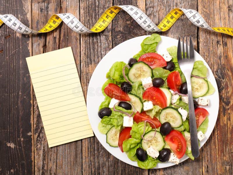 Het concept van het dieetvoedsel royalty-vrije stock fotografie