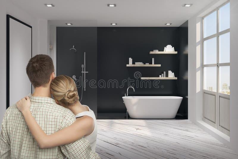 Het Concept van het droomhuis royalty-vrije stock foto's