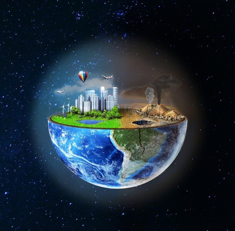 Het concept van Eco stock illustratie