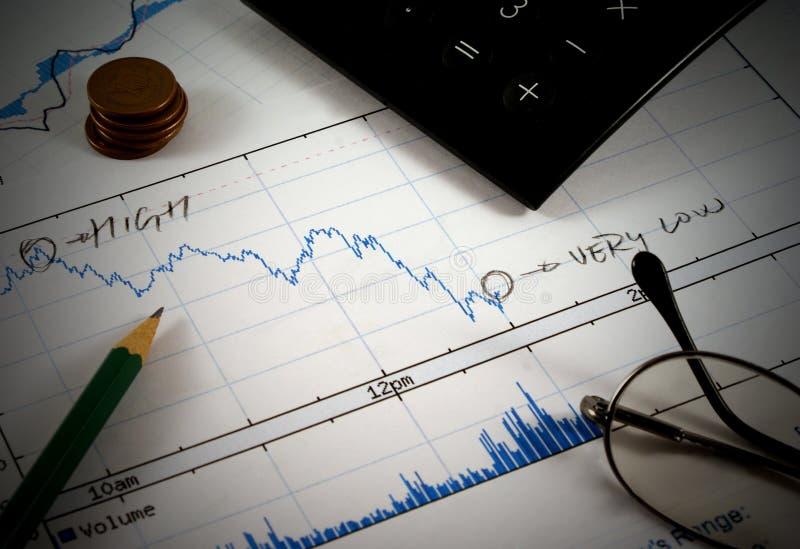 Het concept van financiën royalty-vrije stock foto's