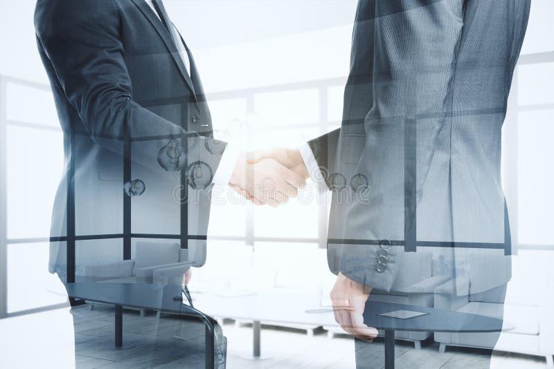Het concept van het groepswerk en van het vennootschap stock foto