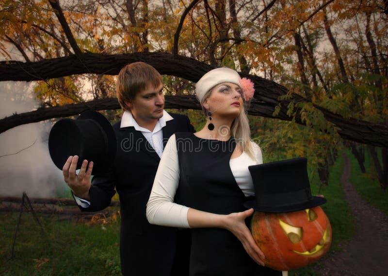 Het concept van Halloween royalty-vrije stock afbeeldingen