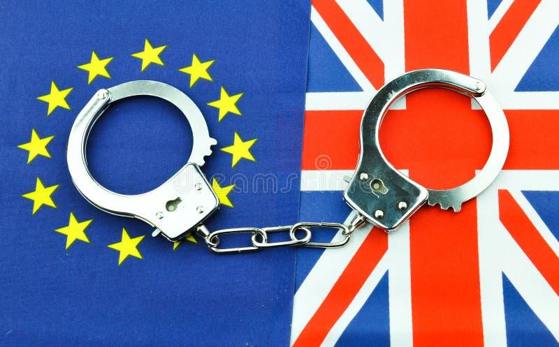Het concept van het Brexitreferendum royalty-vrije stock afbeeldingen