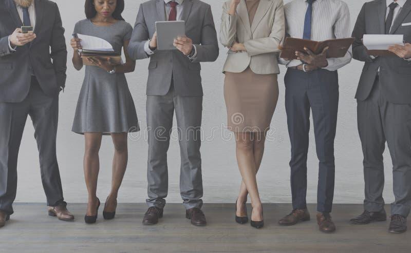 Het Concept van het het Beheersbureau van zakenliedenonderneemsters royalty-vrije stock afbeeldingen