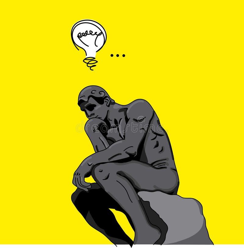 Het concept van het idee royalty-vrije illustratie