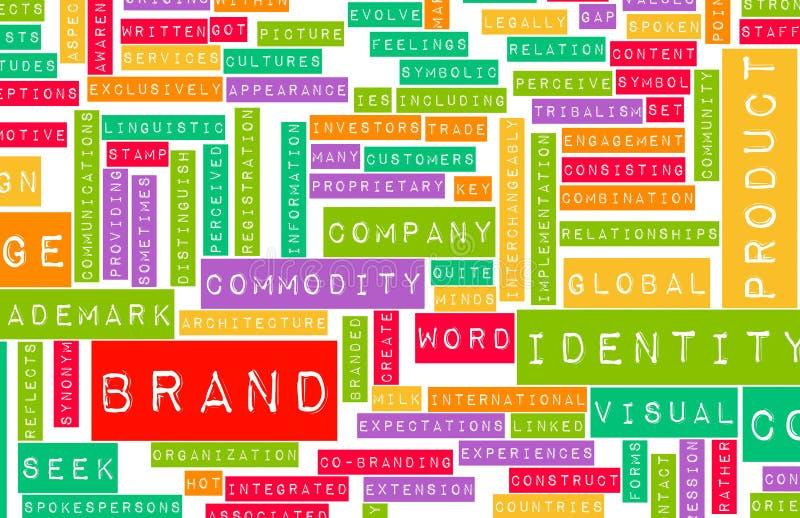 Het Concept van het merk stock illustratie
