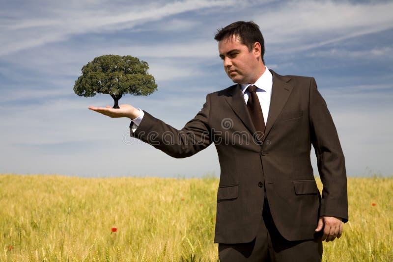 Het concept van het milieu