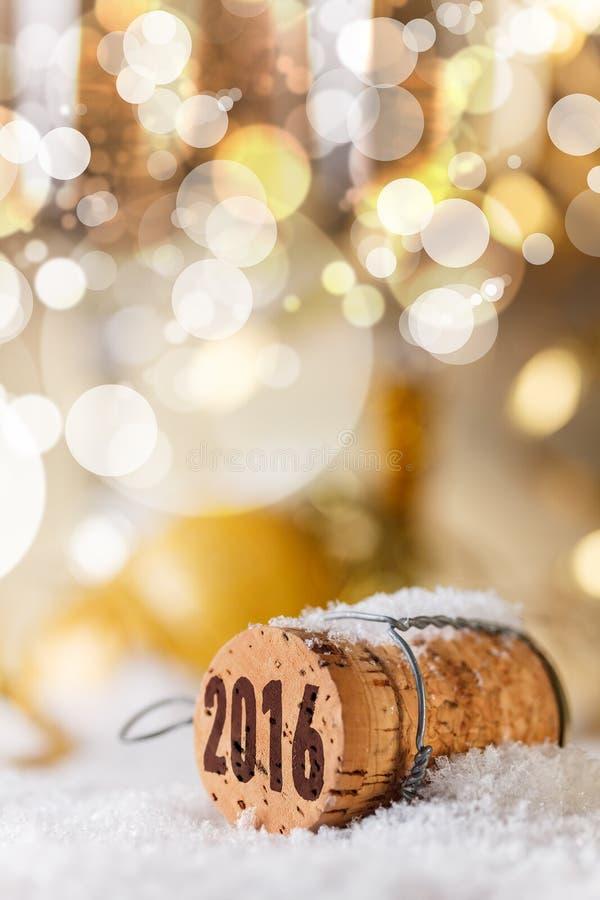 Het concept van het nieuwe jaar stock foto's