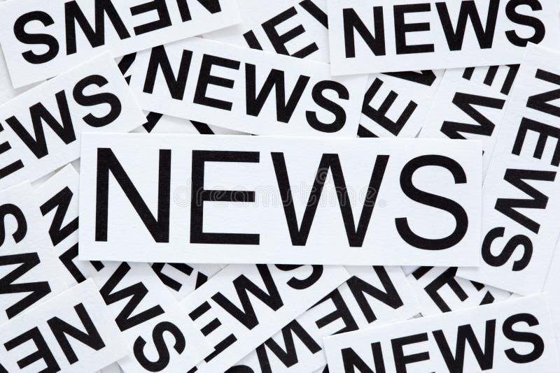 Het concept van het nieuws stock foto's