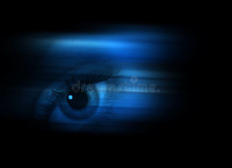 Het concept van het oog stock illustratie