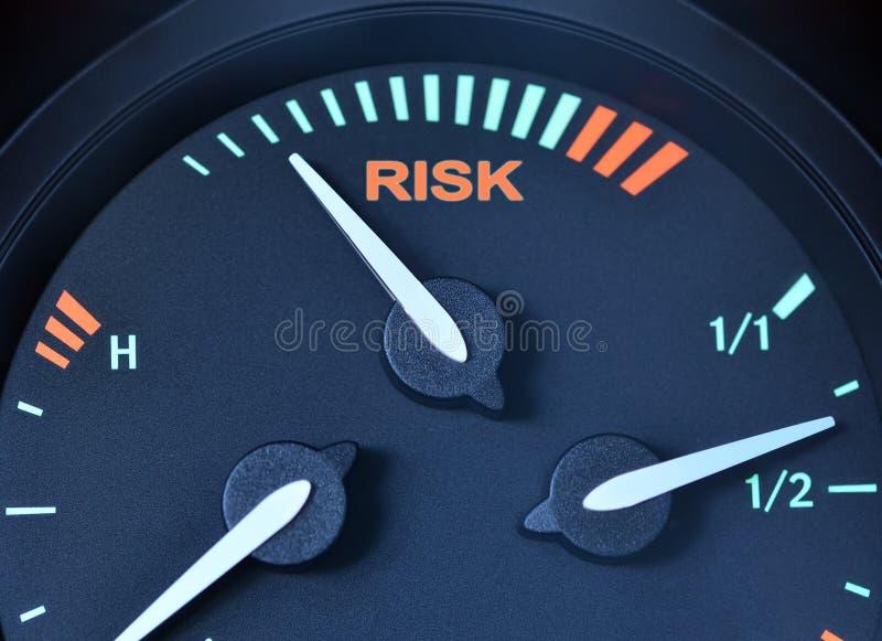 Het concept van het risico royalty-vrije stock foto's