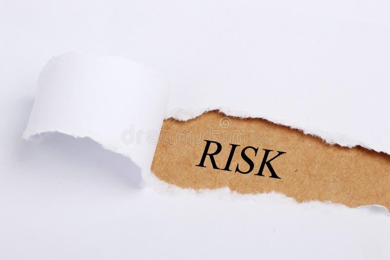 Het concept van het risico royalty-vrije stock foto
