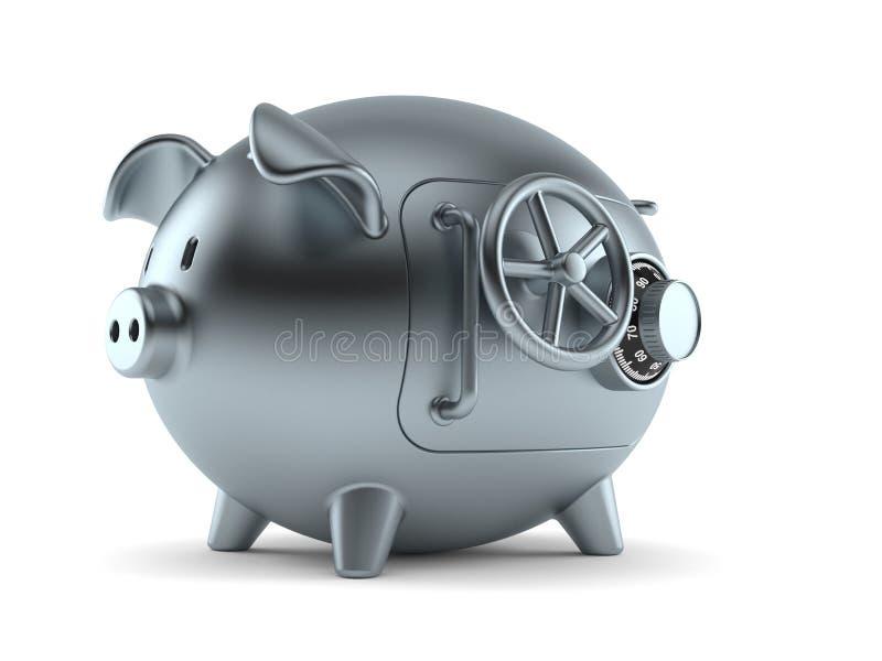 Het concept van het spaarvarken vector illustratie