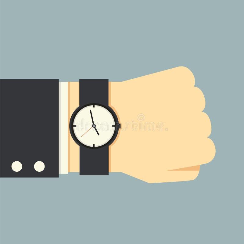 Download Het Concept Van Het Tijdbeheer Vector Illustratie - Illustratie bestaande uit vlak, voltooiing: 39115683