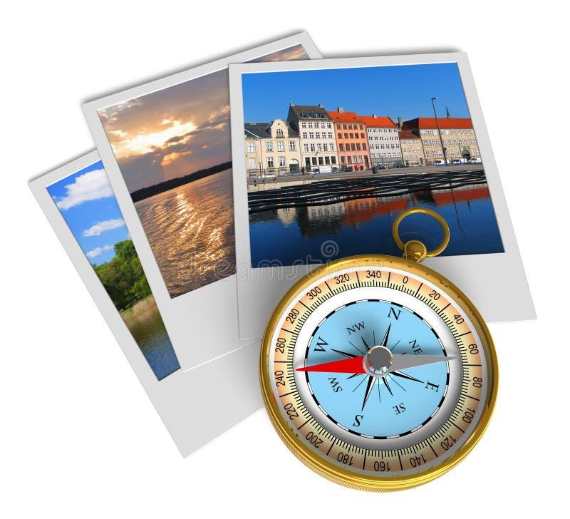 Het concept van het toerisme vector illustratie
